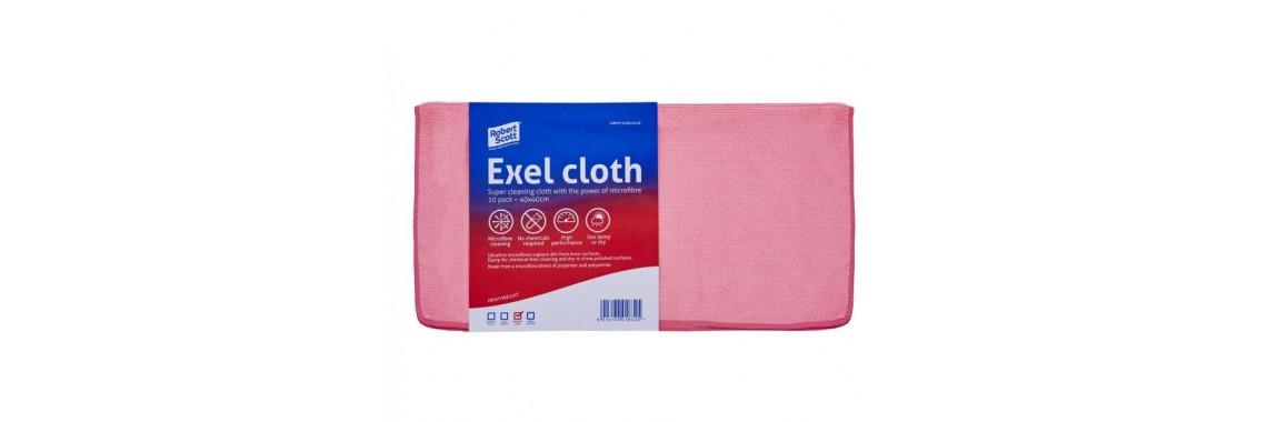 Exel Microfibre Cloth Pink