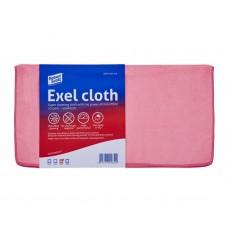 Exel Microfibre Cloth 40cm x 40cm Pink