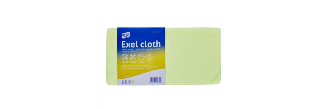 Exel Microfibre Cloth Yellow