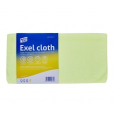 Exel Microfibre Cloth 40cm x 40cm Yellow
