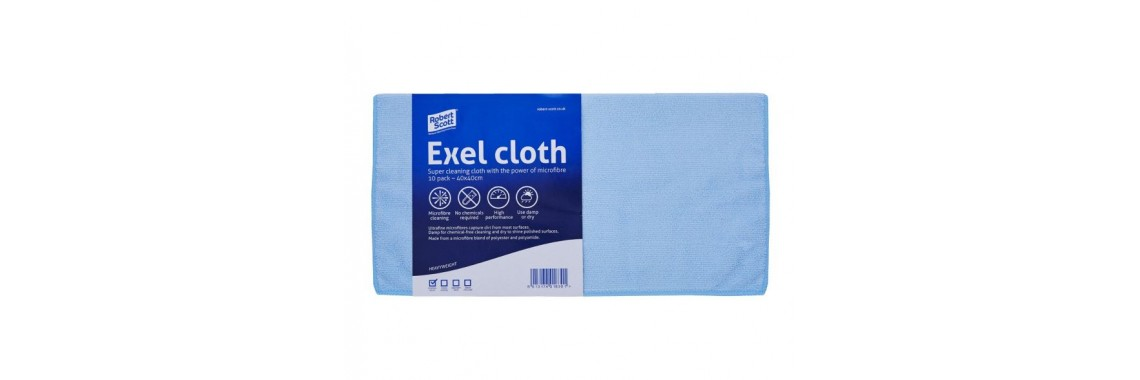 Exel Microfibre Cloth Blue