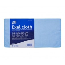Exel Microfibre Cloth 40cm x 40cm Blue