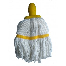 Mop Head Microfibre 200g Socket Yellow