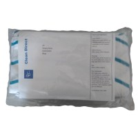 Clean Direct colour coded cleaning cloths pack of 10 blue