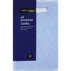 All Purpose Cloths 50pk Blue