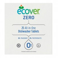Ecover Zero Dishwasher Tablets 25 pack