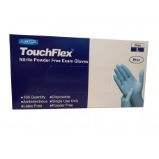 Nitrile Latex and Powder Free Gloves Large