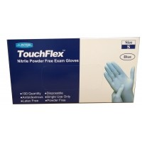 Nitrile Latex and Powder Free Gloves Small
