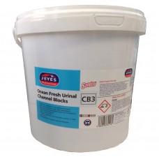 Jeyes Ocean Fresh Urinal Channel Blocks 3kg