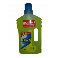 Flash All Purpose Cleaner Crisp Lemons Liquid 800ml