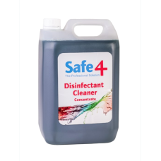 Safe4 Odourless Disinfectant Cleaner 5L