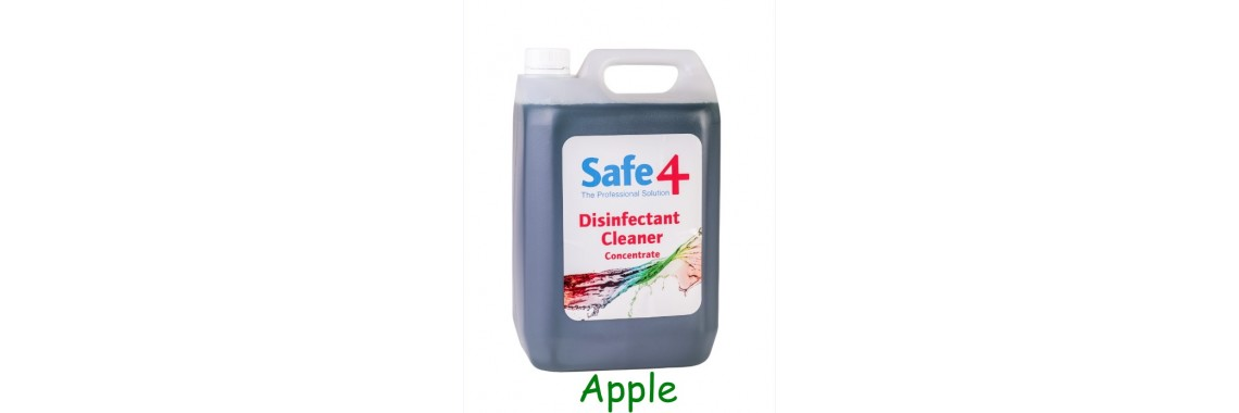 Safe4 Apple Disinfectant Cleaner