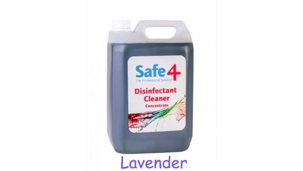 Safe4 Lavender Disinfectant Cleaner