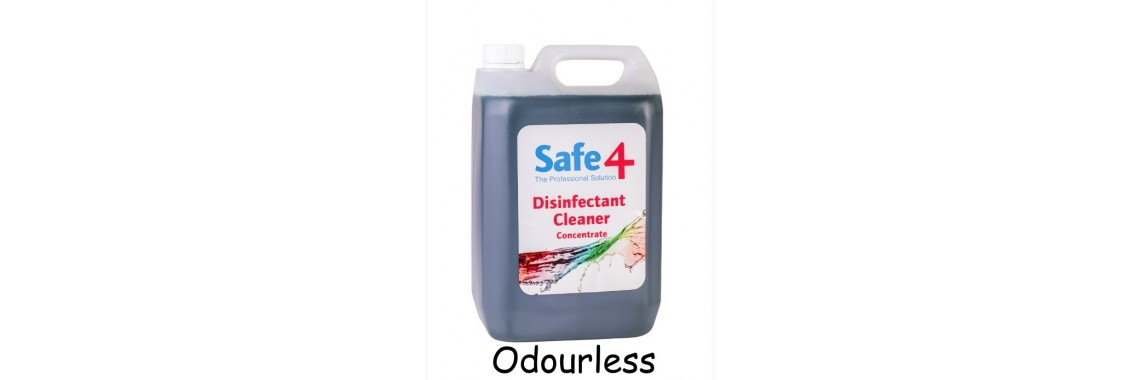 Safe4 Odourless Disinfectant Cleaner