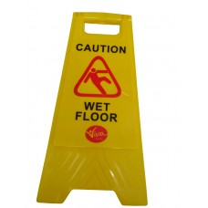 Wet Floor-Cleaning in Progress Sign Viva