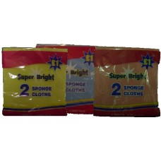 Super Bright Sponge Cloths